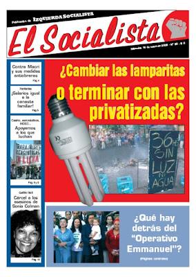 argentina socialista y revolucion