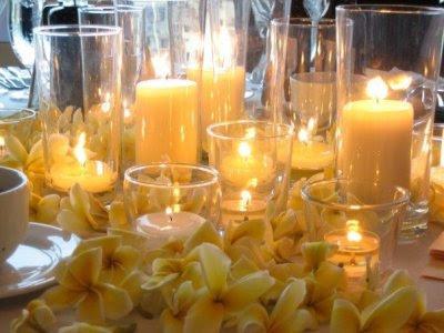 Jolie Blogs Non Traditional Wedding Centerpieces
