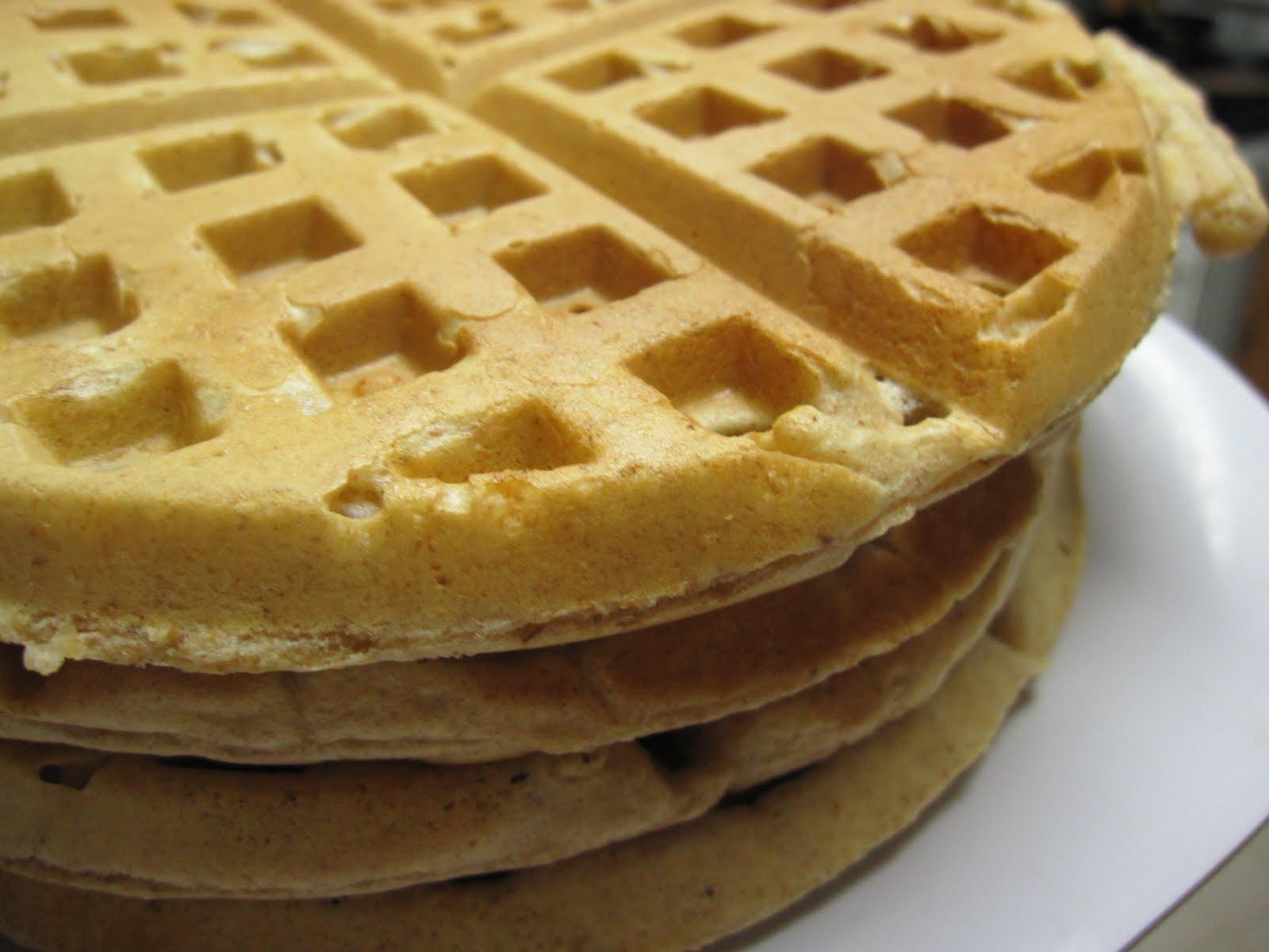 whole wheat peanut butter waffles 2 ¼ c whole wheat