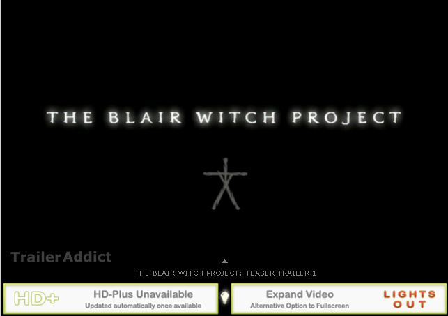 an analysis of the movie blair witch project The heart of the blair witch project is its refusal to grant its audience even a small morsel of clarity the film itself contains barely any action: most of it is an ominous character study, in.