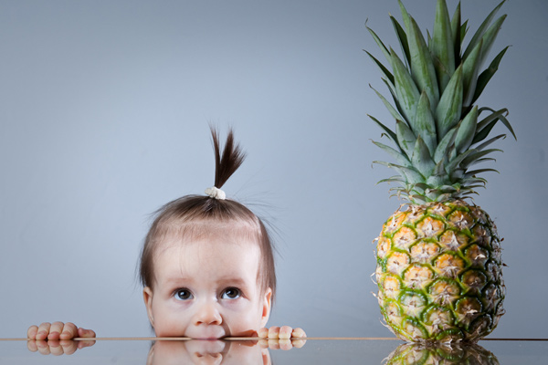 Pineapple Baby photography