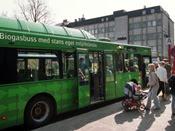 Biogasbuss i Kristianstad