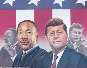 Kennedy & Martin Luther King