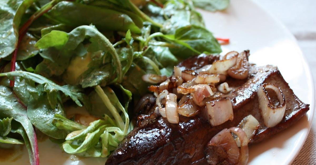 Cuisine en sc ne foie de veau po l aux chalottes - Recette foie de veau poele ...