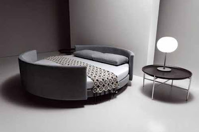 Frame on Talian Design  Round Bed And Sofa  See Picture Below