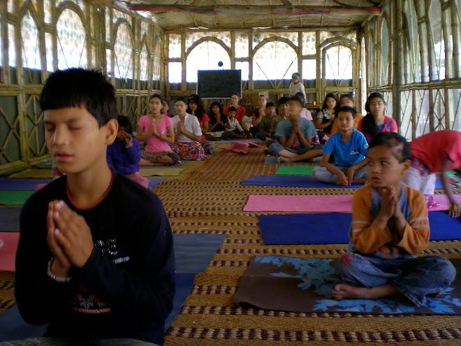 Yoga Class at Ramana's Garden