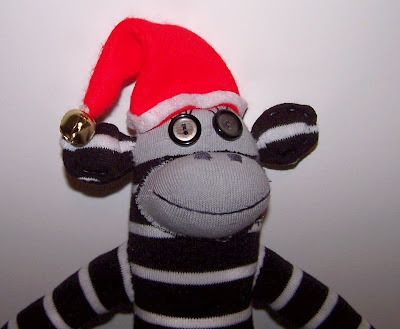 sock monkey giveaway