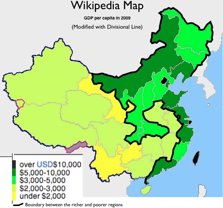 Mapping regional economic disparities in china geocurrents in mid august 2010 global news outlets reported that china had just surpassed japan to become the worlds second largest economy gumiabroncs Images