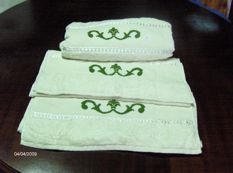 conjunto toalhas turcas 40 €