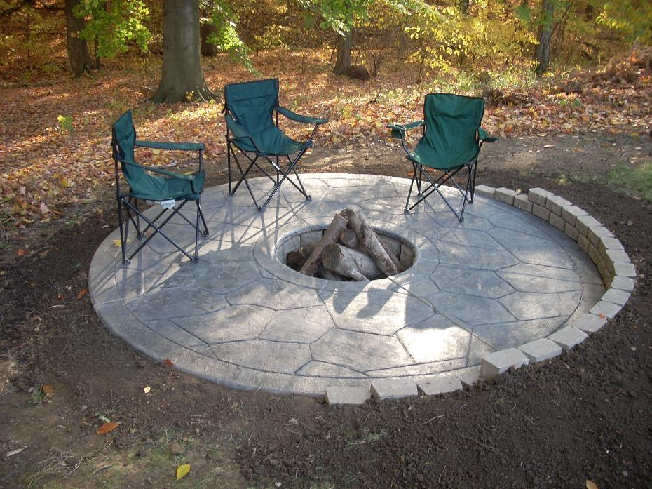 Open ended Prefab fire pits