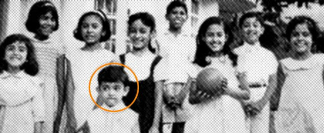 amir khan childhood pics
