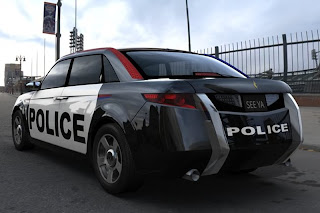 Latest US Police Car