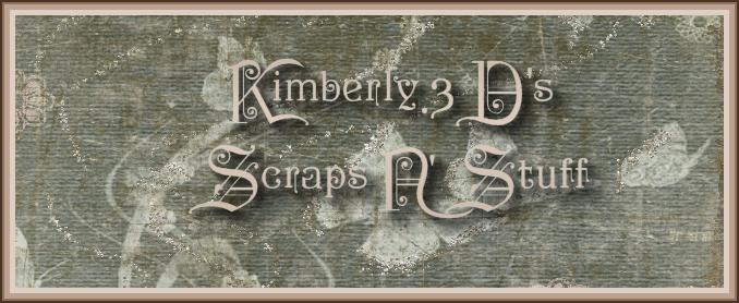 3d Artist Logos. Kimberly.3D Scraps N\\