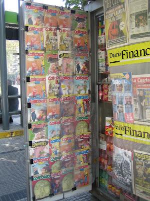 kiosque journaux santiago condorito
