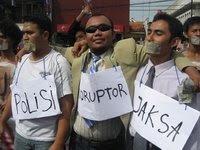 Polisi, Jaksa, Koruptor