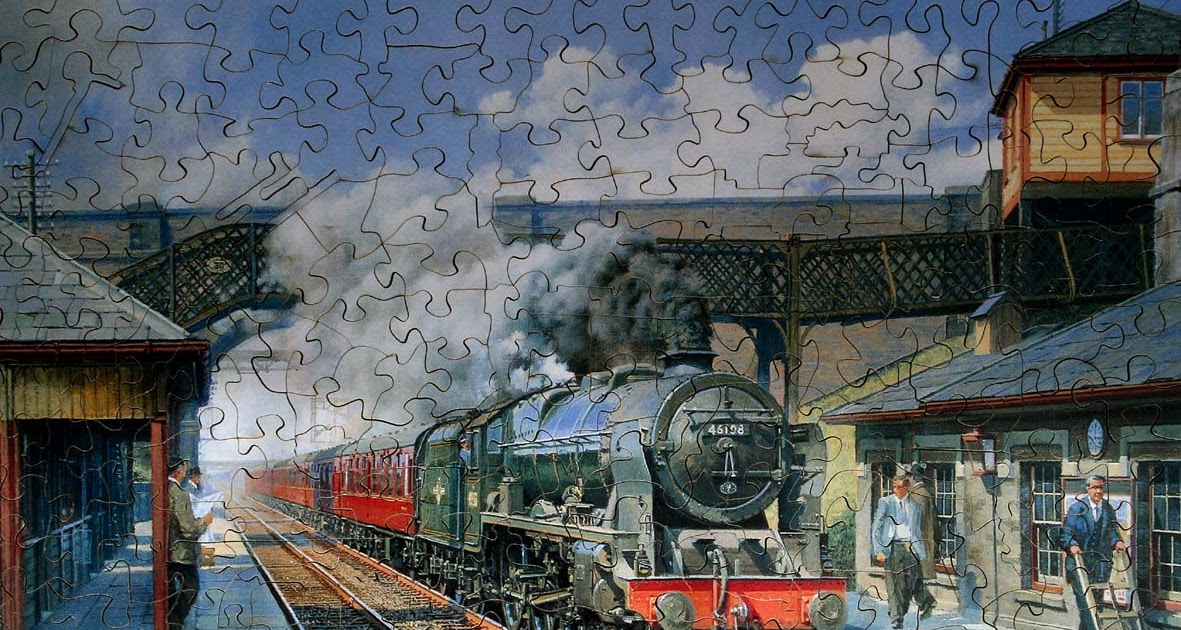 STEAM TRAINS AND JIGSAW PUZZLES: Wentworth, Chad Valley and Good ...