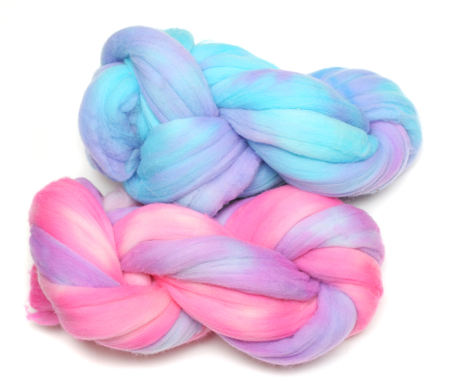 how to make felt beads from wool roving