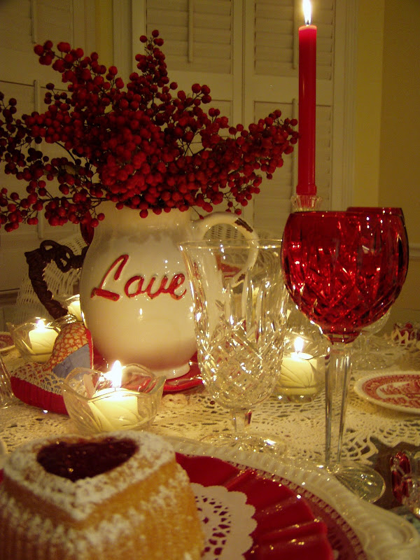 Valentines Day Ideas On Pinterest Table Decorations