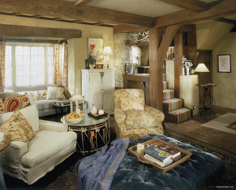 La vie d 39 une r veuse rosehill cottage - Cottage inglesi interni ...