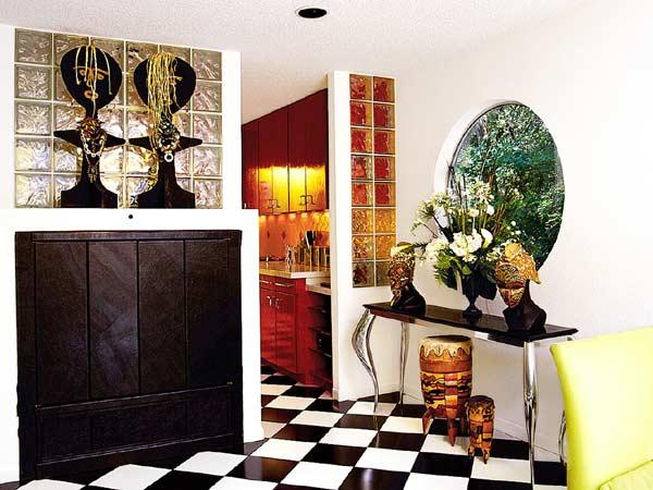 decoracao piso branco:Arquitetando Na Net: ARQUITETANDO COM THELMA – PISO EM PRETO E BRANCO