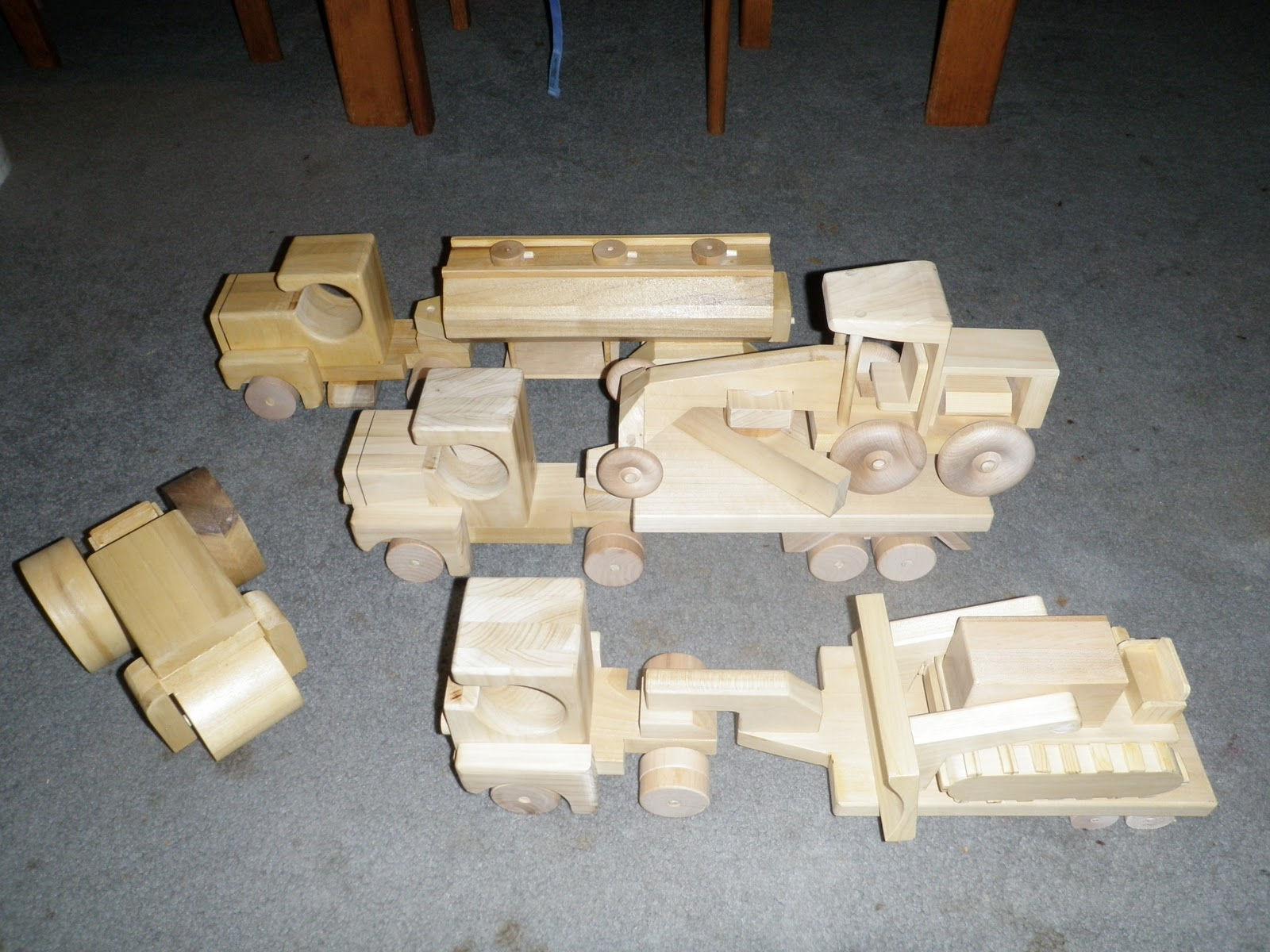 Wood Toy Truck Plans Free Diy Woodworking Projects