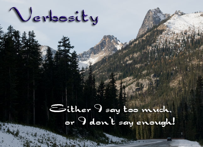 Verbosity