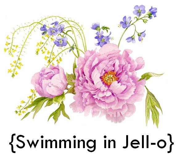 Swimming in Jell-o