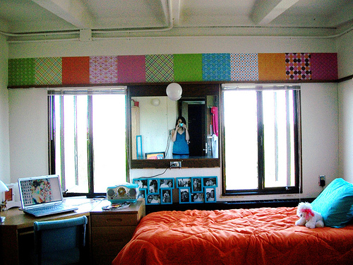 Decorating Ideas > Design Muse Dorm Days Are Her ~ 202554_Real Dorm Room Ideas