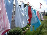 Clotheslines Save Energy & Smell Good Too