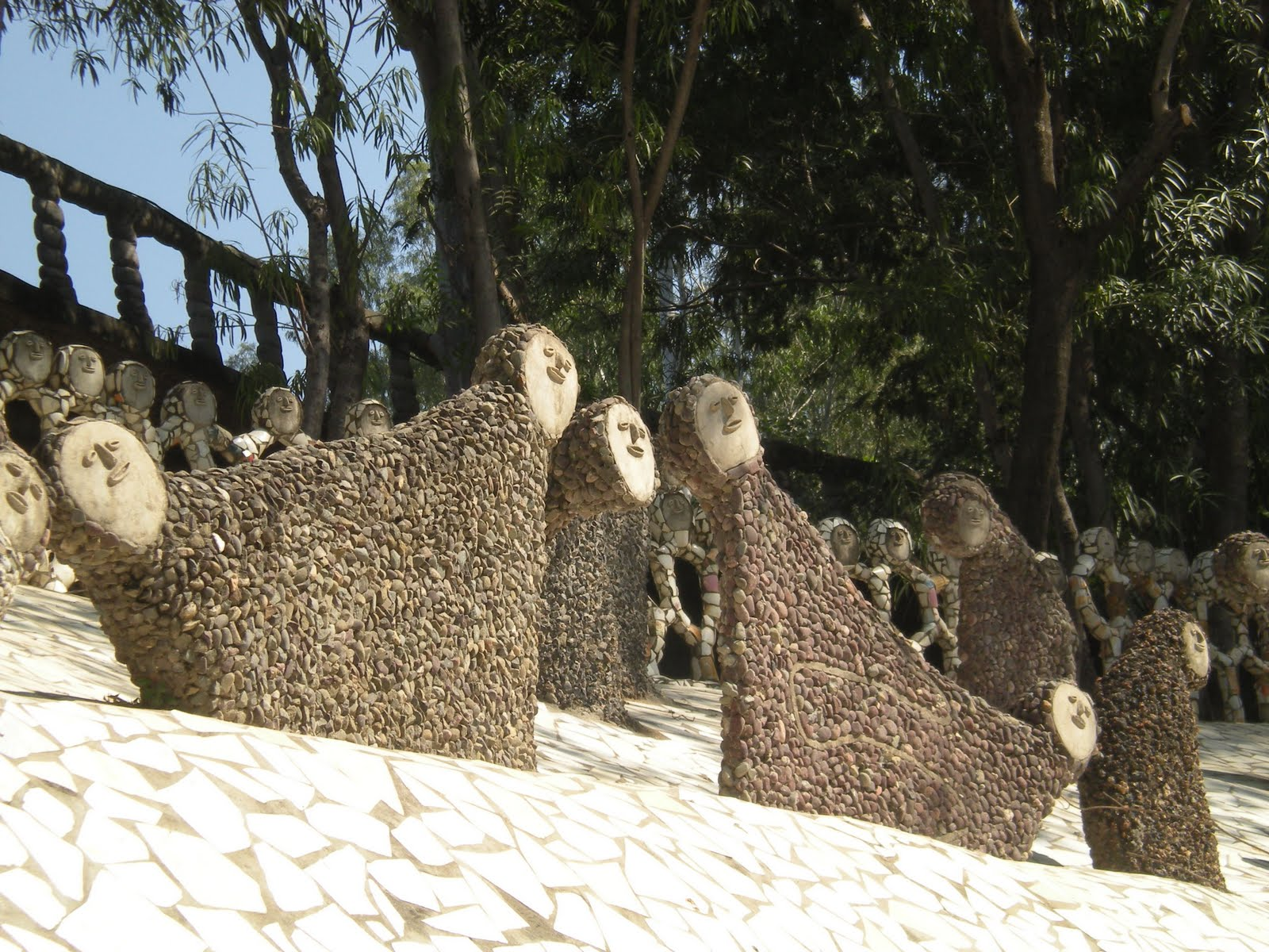 Brix and Trix: Watts Towers of India...Nek Chand