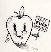 Happy Apple Mascot