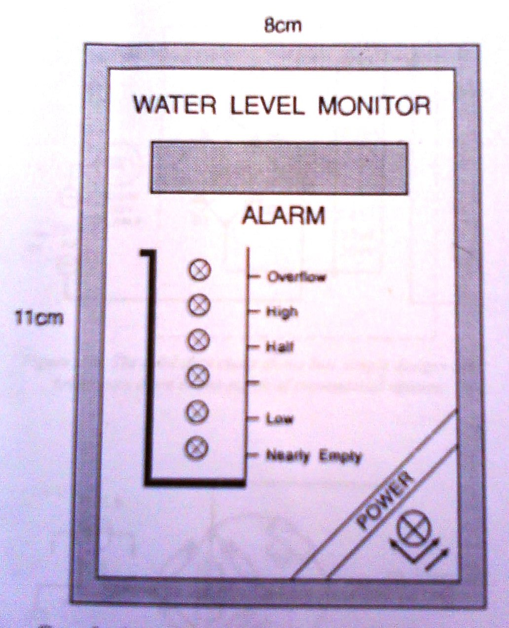 Huzoonline August 2010 Figure 1 Tda2050 Typical Hifi Amplifier Schematic This Panel May Either Be Photo Copied On To Film Or Used Directlythe Sensors Can Fixed One Side Of The Water Whose Level Is Measured B