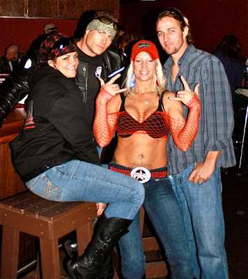 and girlfriend, Kyle Shorey and Kimmy Cruz - Daytona Bike Week 2010