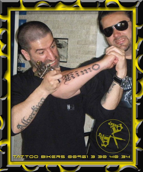 through the tattoos on their bodies. Brotherhood, Freedom, Hero, Nature,