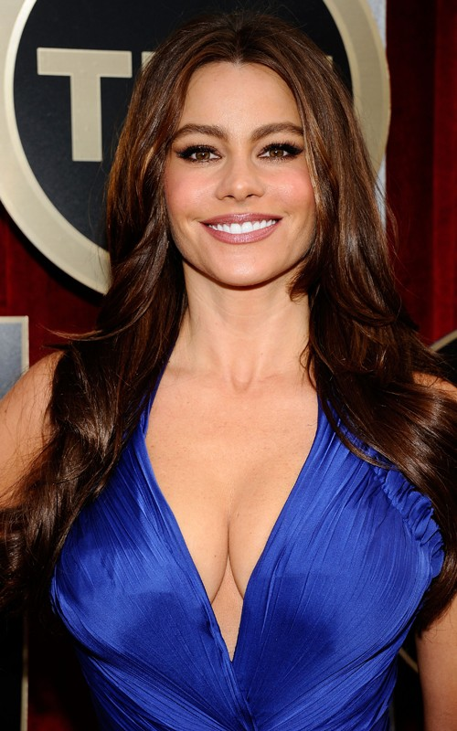 Sofia Vergara: 2011 Screen Actors Guild Awards in Royal Blue