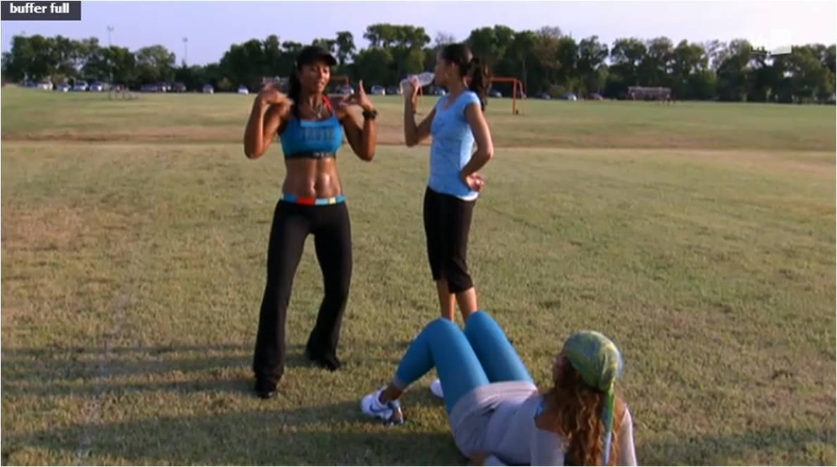Pilar sanders workout it s your yard pilar