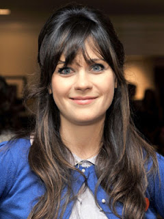 Zooey Deschanel Hairstyle Pic