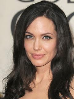 Angelina Jolie Sexy Hair Style