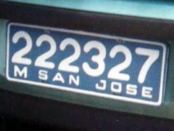 Matrícula del Departamento de San José