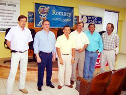 Conferencia de prensa de Cabaña Santa María