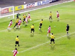 """Incidencia del partido entre Peñarol y Tacuarembó disputado en el estadio """"Atilio Paiva Olivera"""""""