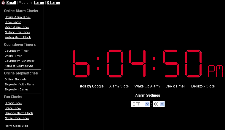 Online Alarm clock websites that you really want to use