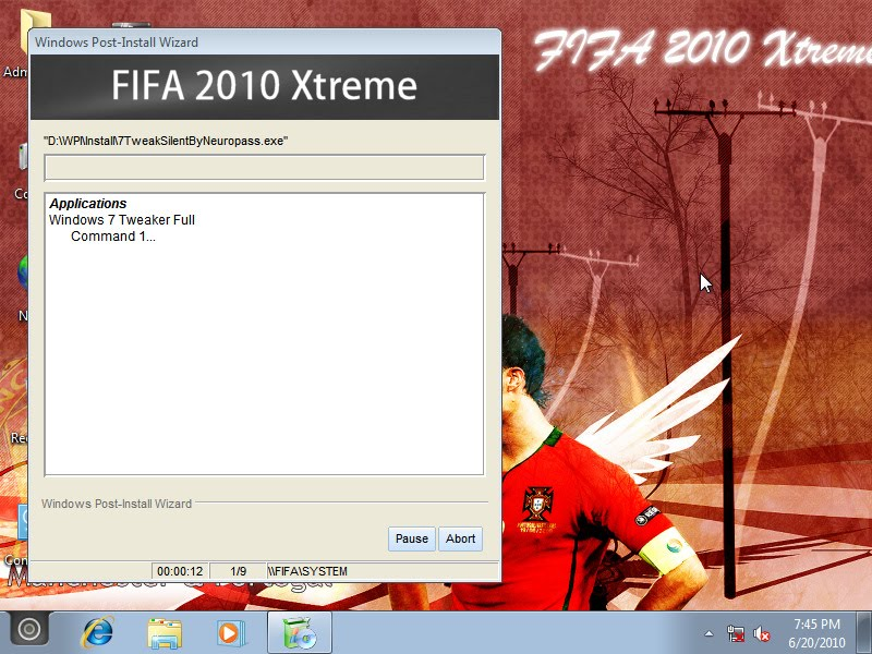 2 Download Windows Seven FIFA 2010 Xtreme