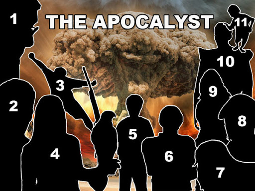 hard to live apocalypse list key