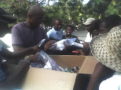 Disciples open relief packages from HOPEww