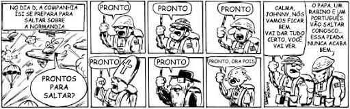 tirinha webcomic band of brothers