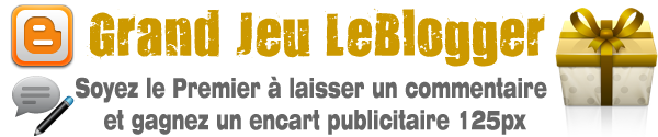 Grand jeu LeBlogger