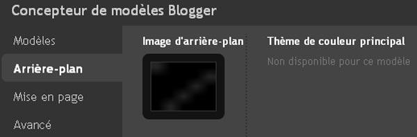 Couleur Concepteur de Modèles Blogger
