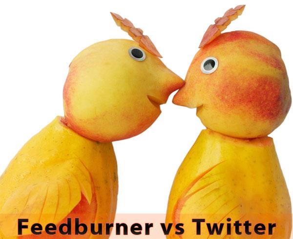 FeedBurner Twitter
