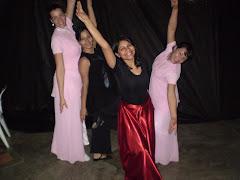 Algumas integrantes - Dança da Santidade
